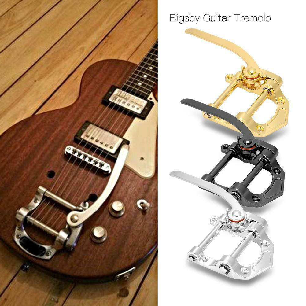 NEW Vibrato Tailpiece Electric Guitar Silver Gold Tremolo Bridge Guitar Accessories Or Tele SG LP ETC Electric Guitars ES335