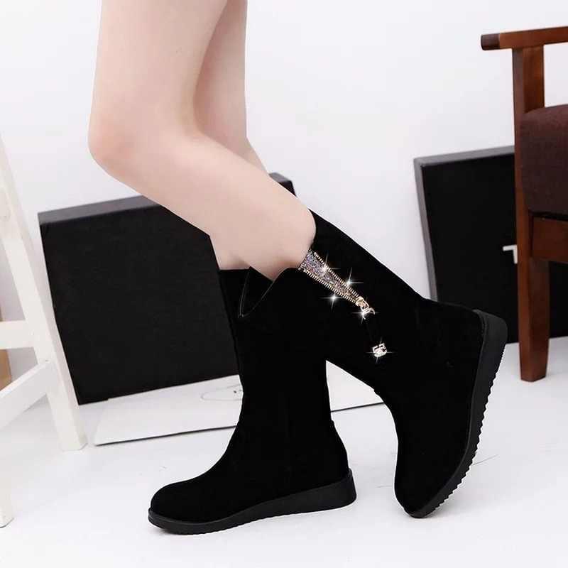 2019 kar botları bayanlar kış rahat ayakkabılar bayanlar yüksek çizmeler siyah gri yumuşak rahat kadın ayakkabısı