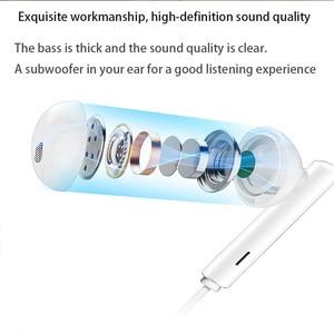 Image 3 - الأصلي هواوي CM33 سماعات Eerbuds USB نوع C ميكروفون التحكم في مستوى الصوت ل ماتي 10 ماتي 10 برو P20 P20 P30 برو