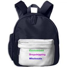 NOISYDESIGNS Customized Boys Kindergarten School Bags Kids Cartoon Backpack Image Phone Number Printing Child Mochila Escolar