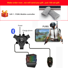 Kuulee PUBG Mobile Gamepad Controller Gaming Keyboard Mouse Converter for Android Phone to PC Bluetooth Adapter g1x phone gamepad android pubg controller gaming keyboard mouse to pc converter adapter for iphone free shipping and gift