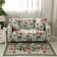 Funda de sofá elástica con estampado de flores rosas de jardín vintage todo incluido funda de sofá para diferentes formas funda de sofá