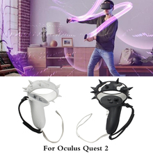 VR Accessories Protective Cover For Oculus Quest 2 VR Touch Controller Cover With Knuckle Strap Handle Grip