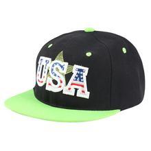 K Pop Punk Style USA Letter Black Hip Hop Baseball Cap Gorras Casquettes Sombrero Golf Casquette Americaine Bubba Gum Trucker