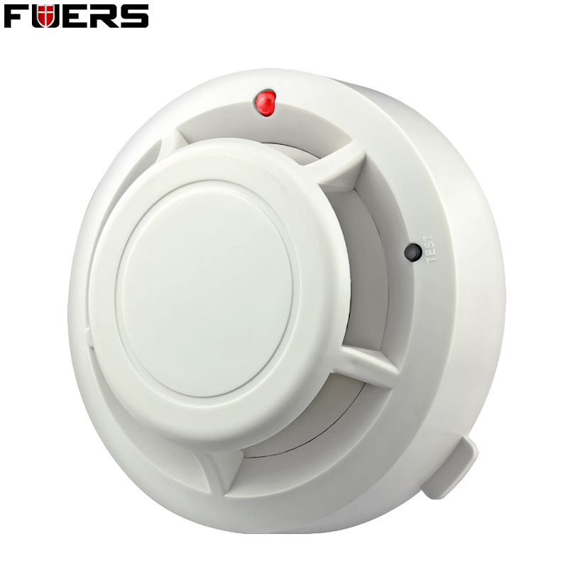 FUERS Independent Smoke Detector Sensor Fire Alarm Home Security System High Sensitive Smart Fire Equipment Smoke Detectors