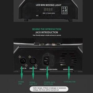 Image 5 - Led 18x12W Moving Head Laser Projektor Beleuchtung RGBW 4in1 Strahl Bühne Licht Wirbelwind Wirkung Für Dj Disco party Ball Strobe Laser
