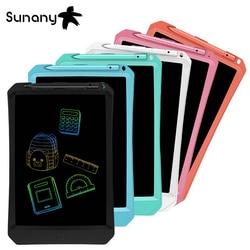 Sunany 11 дюймов разноцветный ЖК-планшет для письма, ручная роспись, многоразовая изогнутая боковая доска, подарок для холодильника, стикер, бес...