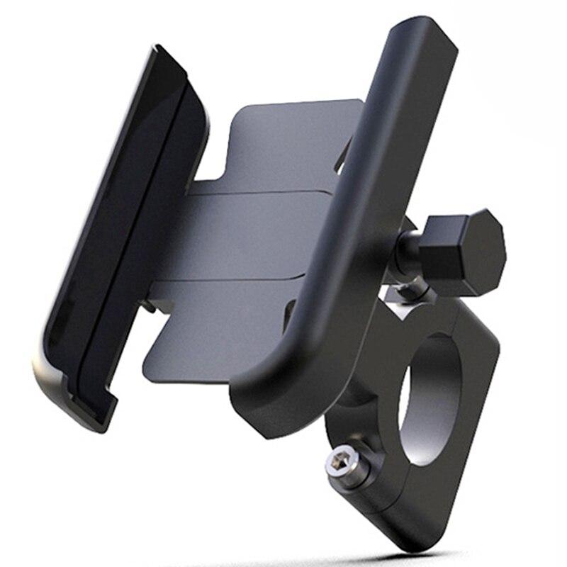 """Support pour téléphone de vélo en alliage daluminium support de guidon de vélo de moto pour 4-7 """"téléphone intelligent GPS 20-30mm accessoires de moto"""