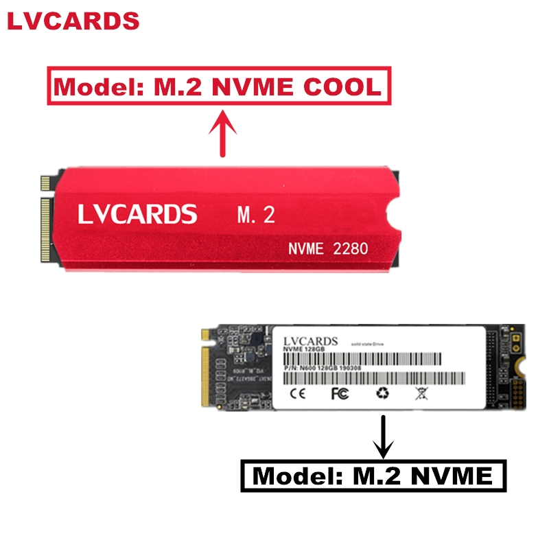 LVCARDS M.2 Ssd M2 256gb PCIe NVME 128GB 512GB 1TB Solid State Drive 2280 Internal Hard Disk Hdd For Laptop Desktop MSI Asrock