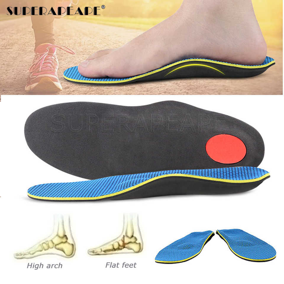 Severe Flat feet insoles Orthotic Arch