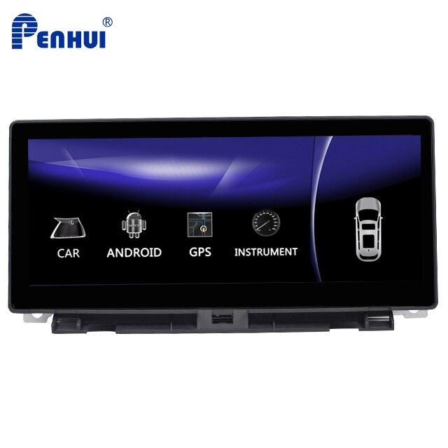10,25 дюймов Восьмиядерный 4 Гб RAM + 64 ГБ ROM автомобильный DVD GPS навигационный плеер для LEXUS NX 300h 200t (2014 2018) с CarPLay + Mirrorlink Мультимедиаплеер для авто      АлиЭкспресс