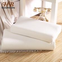 Almohada de espuma de rebote lento para adultos, 60x40cm, Almohada ortopédica Cervical para cuello, cama cuidado salud, almohadas para dormir