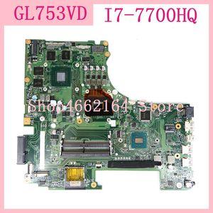 GL753VD материнская плата I7-7700HQ GTX 1050 видеокарта для Asus GL753 GL753V GL753VD GL753V FX73V материнская плата для ноутбука