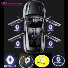 자동차 LED 문 로고 빛 유령 그림자 환영 빛 Renault Koleos Laguna Espace 4 5 Vel Satis Latitude Talisman Megane