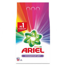 Стиральный порошок автомат «Color» Ariel, 3 кг