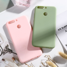 Candy Color Silicone Phone Case For Huawei Honor V9 Soft Tpu Cover 8 Pro Fashion Luxury High Quality