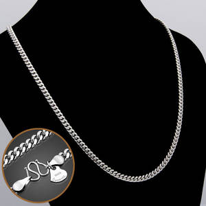 925-Silver Necklace Chain Cuban Jewelry Real-Solid-Thick Fashion Man 6-Mm 26-Inches Whip