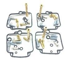 4 pçs kit de reparação carburador carburador carb acessórios para suzuki bandit gsf400 gsf 400