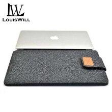 LouisWill 13 дюймов ноутбук войлок сумки переноска чехол защитный чехол портативный iPad чехлы износостойкий противоударный ноутбук