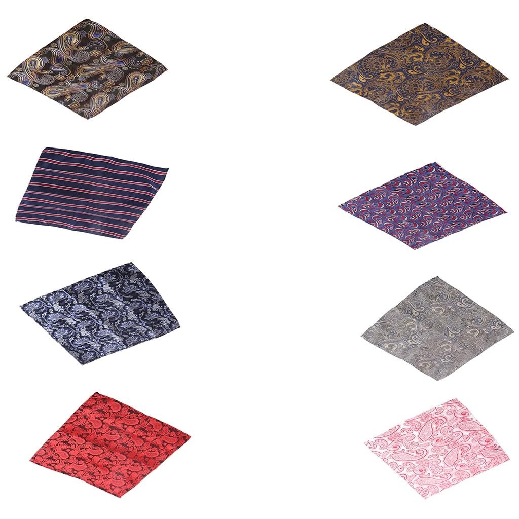 New Arrival Men's Pocket Square Hankie Hanky Wedding Party Handkerchief