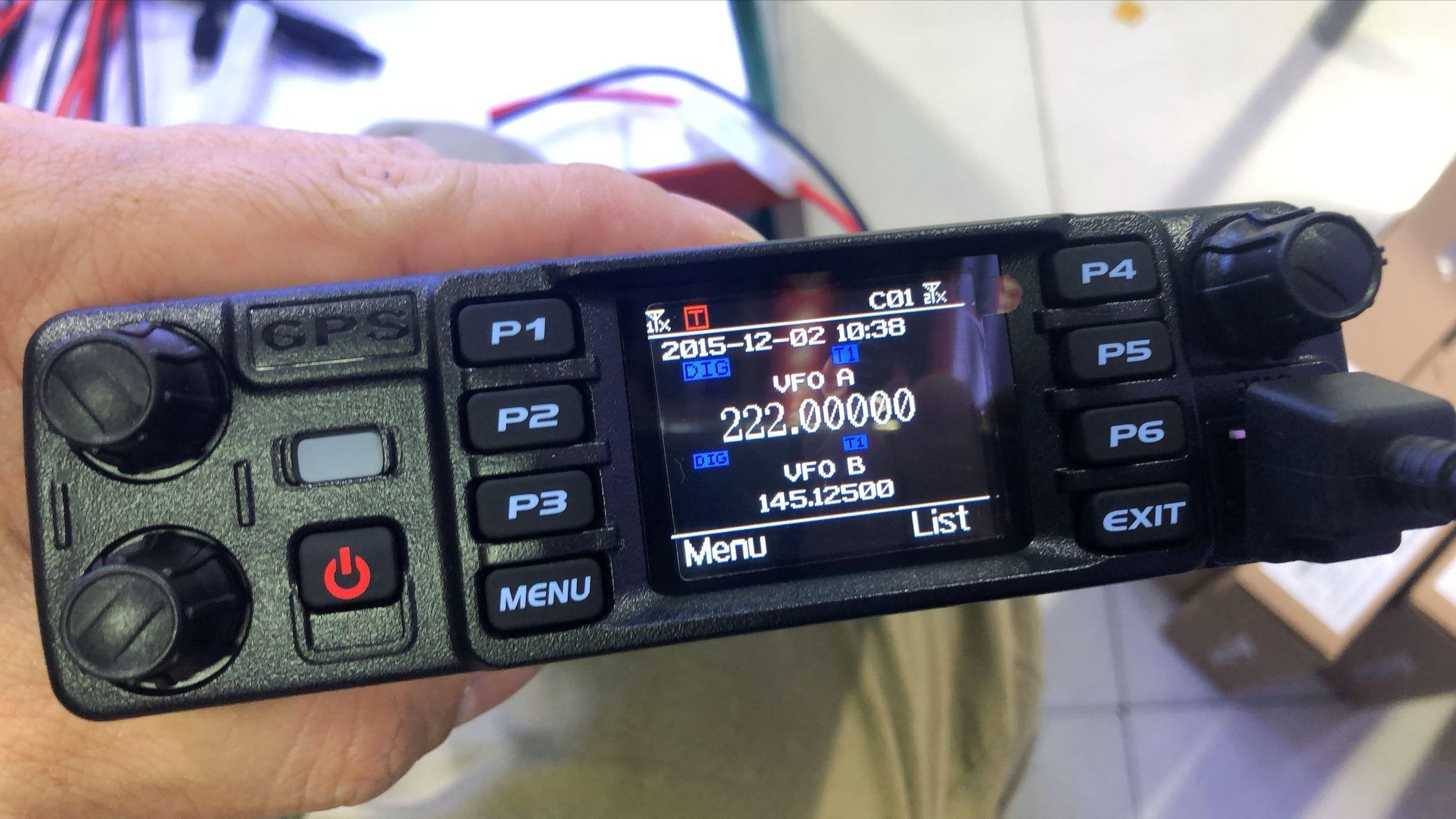 Anytone AT-D578UVIIIPRO DMR and Analog Radio Station 50W VHF UHF GPS APRS Bluetooth Walkie Talkie DMR Car Radio Communicator 3