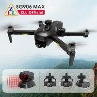 ZLL-Dron SG906MAX con cardán de 3 ejes, 4K, cámara HD, 360 grados, prevención de obstáculos, FPV, 5G, WIFI, profesional, Quadcopter