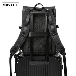 Image 4 - MOYYI Molle Shockproof Travel Backpack Men Travel Dairy Hangout Lightweight Large Capacity Male Mochila Anti Theft Backpacks
