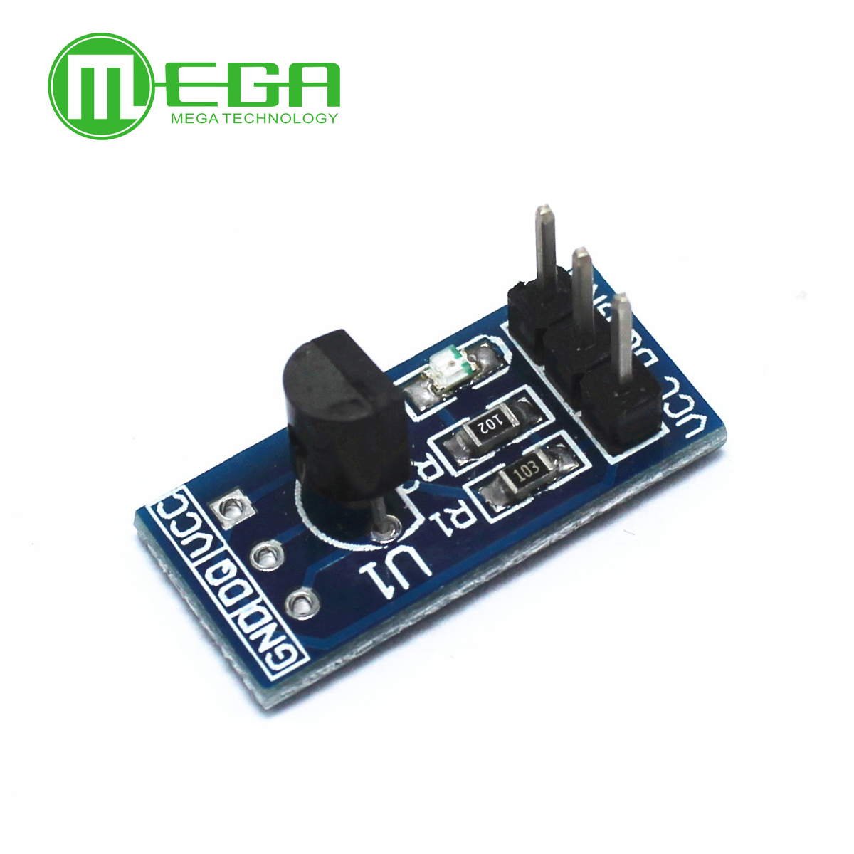 <font><b>DS18B20</b></font> temperature measurement sensor module For arduino image