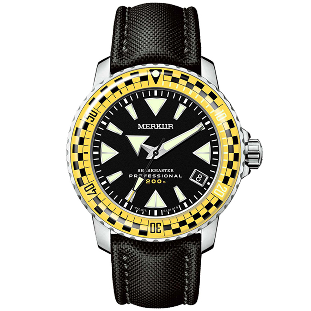 200M Diving Mechanical Wristwatches Men NH35 Automatic Watch Mens Sports Stainless Steel Watch Sapphire Crystal Swim Diver Watch