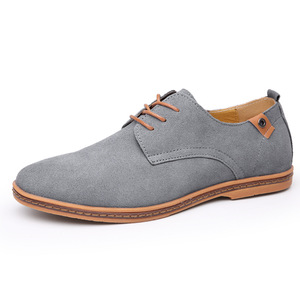 Image 3 - 2019 Brand Men shoes Oxford Suede Leather formal Shoes Male  Casual Classic Sneakers For Male Comfortable Footwear zapatos hombr