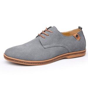 Image 3 - 2019 ブランド男性靴オックスフォードスエード革フォーマルな靴男性カジュアルクラシックスニーカー男性快適な靴 zapatos hombr