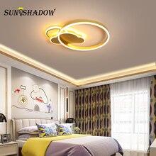 Lighting Fixtures Modern Led Ceiling Light Gold Black Lamp 36w 50w For Foyer Living room Bedroom Study Dining