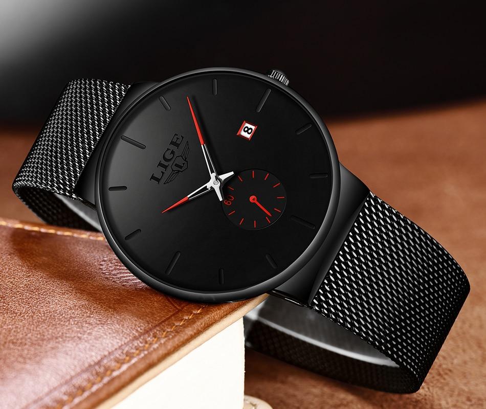 H0f6b575ff65045e9838b1cfdde5c8e63b New LIGE Mens Watches Casual Fashion Gift Men Watch Business Waterproof Quartz Watch Full Steel Clock Relogio Masculino+Box