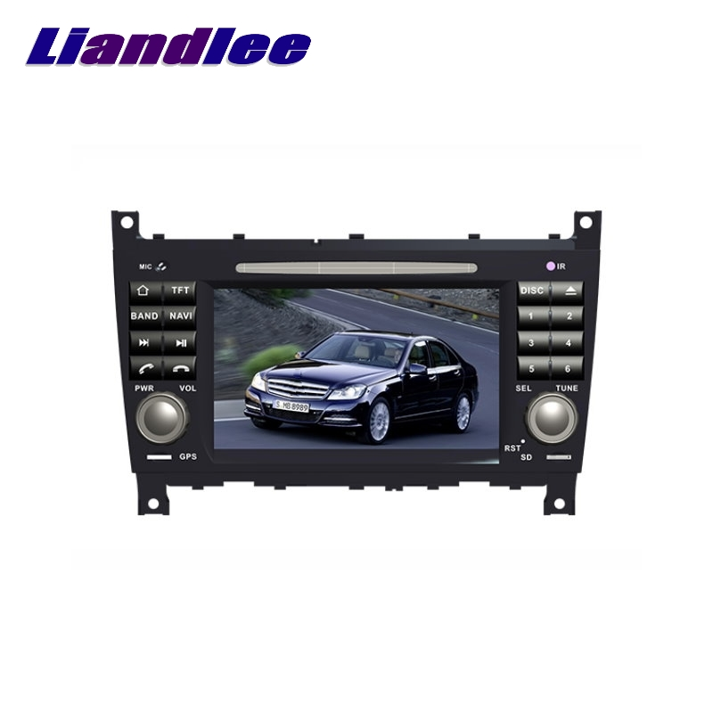 For Mercedes <font><b>Benz</b></font> MB C <font><b>W203</b></font> facelift later LiisLee Car Multimedia GPS Audio Hi-Fi <font><b>Radio</b></font> Stereo Original Style Navigation <font><b>NAVI</b></font> image