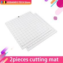 3 шт сменный коврик для резки прозрачный клейкий с измерительной