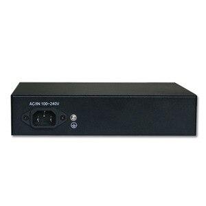 Image 5 - 6 Port Ethernet Switch 48V 96W Mit 4 Port POE + 2 UPlinks 100 Mbps Schalter interne Backplane Bandbreite 1,2G Full duplex