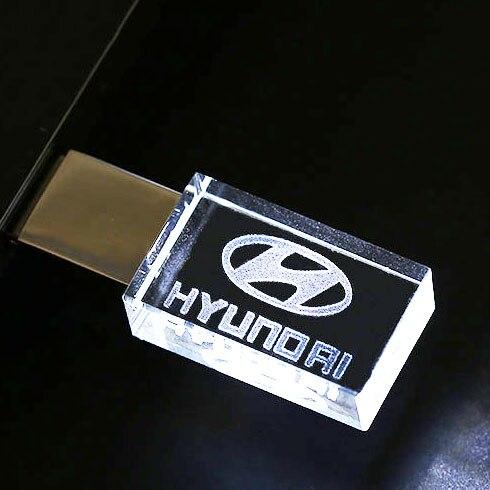 Bảng giá Hyundai modern crystal metal USB flash drive pen drive 8GB 16GB pendrive 32GB 64GB 128GB External Storage memory stick u disk Phong Vũ