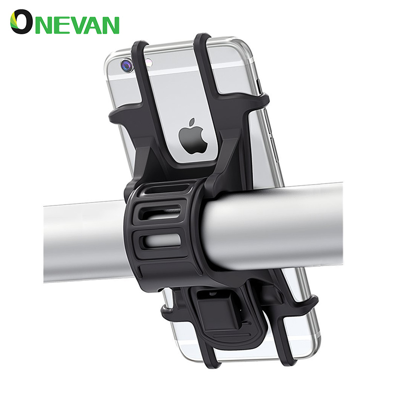 Bicycle Phone Holder Bike Motorcycle Cell Phone Holder Motorbike  Handlebar Clip Stand GPS Mount Bracket For Smartphone Iphone