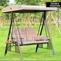 Уличное кресло-качалка для двух человек  плетеное кресло для уличного двора  садовое кресло-качалка для двух человек  железный качающийся с...