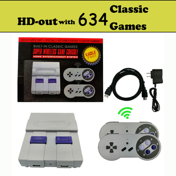 16 bit Video Game Console with US and Japan Mode Switch AV-out for Original Handles Export Russia with 300 500 600 Classic Games 11