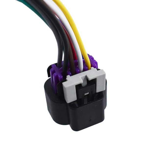 คันเร่ง Pigtail ตัวเชื่อมต่อสายไฟสำหรับ GM 6.0L LQ9 2003-2007