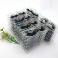 10/20/30/50/100 paires de cils naturels longs 3d vison cils en gros faux cils maquillage vison cils extensions de cils