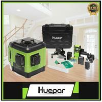 Huepar 전자 레이저 레벨 셀프 레벨링 그린 빔 3 평면 레벨링 130ft