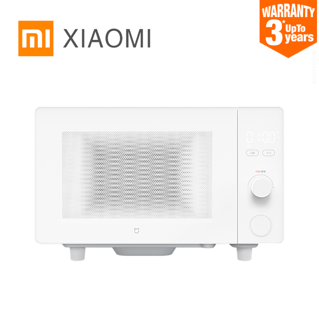 XIAOMI MIJIA Microwave Ovens Pizza oven Electric bake microwave for kitchen appliances stove Air Grill 20L Intelligent control