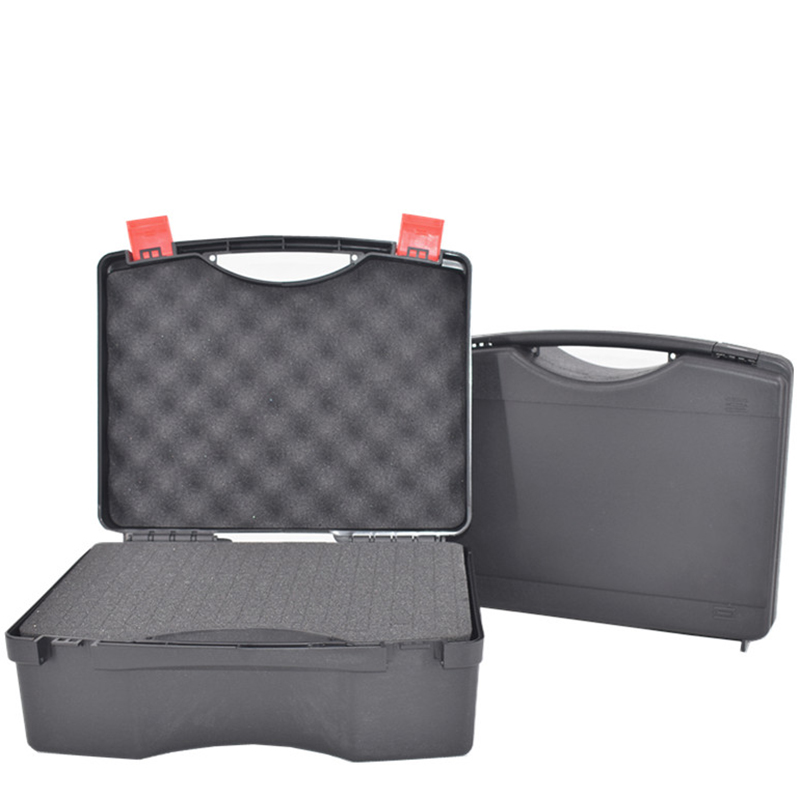 Portable Plastic Tool Case Instrument Case Dry Box Impact Resistant Outdoor Safety Protection Equipment Box With Pre-cut Foam