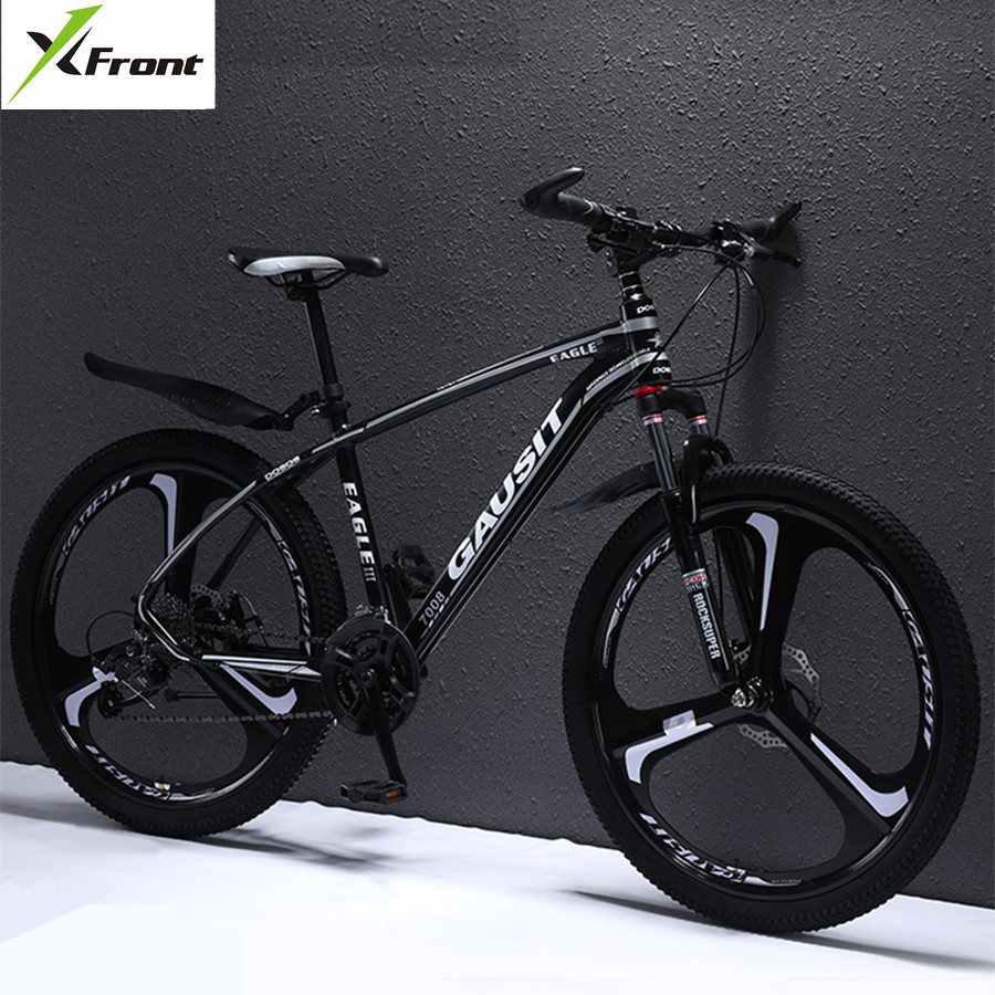 X Front Brand Mountain Bike Aluminum Alloy Frame Hydraulic Disc Brake SHIMAN0 27 30 Speed Sports MTB Sports Downhill Bicycle|Bicycle|   - title=