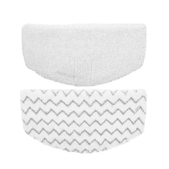 2pcs/lot soft washable Microfiber Mop Pads for Bissell symphony 1132 1252 series Steam Pad 1543 1530 1652