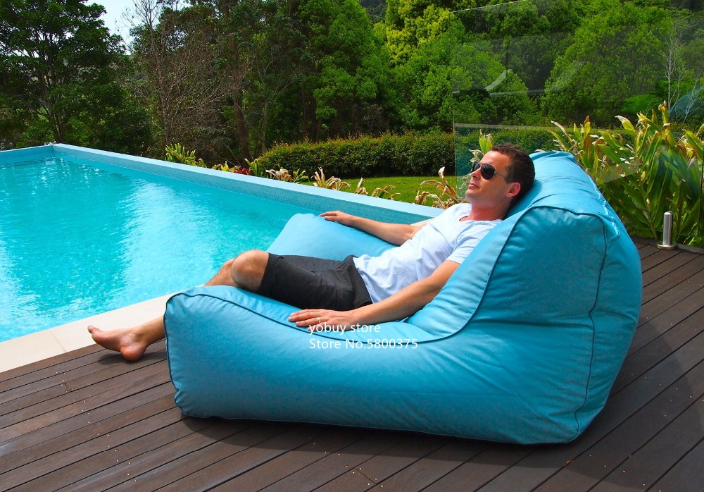 Large Size Water Floating Bean Bag Chair Made Of 420D Oxford-PVC Material 24