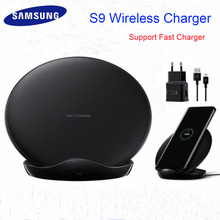 Original Samsung Fast Wireless Charger Qi Smart Quick Charge For iPhone X XR XS 8/Galaxy S9 S8 S10 Plus Note 8 9/Mate 20pro