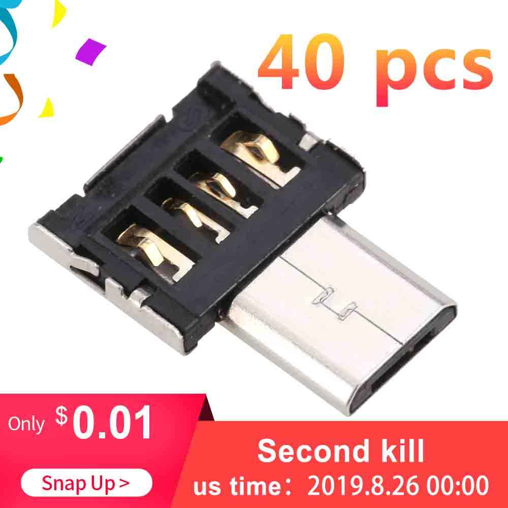Ultra Mini Micro USB 5pin OTG Konektor Adaptor untuk Ponsel/Tablet/Kabel USB/Flash Disk